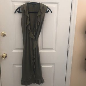 JCrew wrap dress